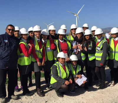 Grade 11 Learners Experience Wind and Solar Energy