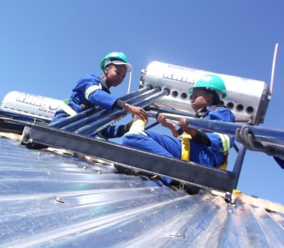 DROOGFONTEIN FUND SOLAR WATER HEATING PROGRAMME TO CREATE JOBS
