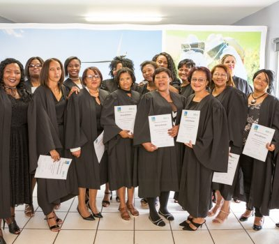 JEFFREYS BAY WIND FARM ALIGNS TEACHER TRAINING TO COUNTRY'S DEVELOPMENT PLAN