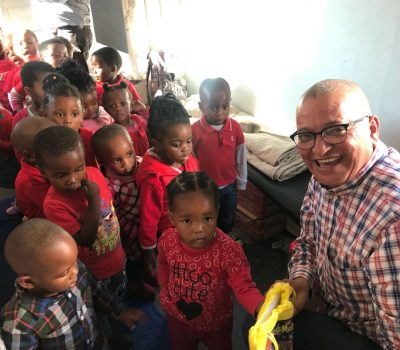SUPPORT FOR KHULANI EDUCARE IN HONOUR OF MANDELA DAY 2018