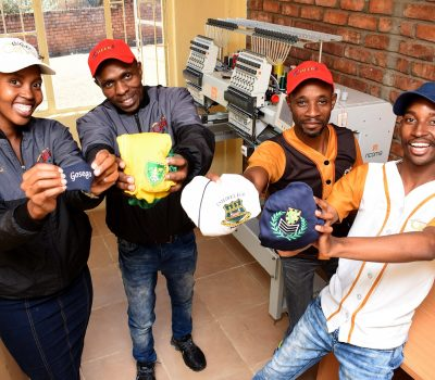 YOUTH BUSINESSES GET SUPPORT