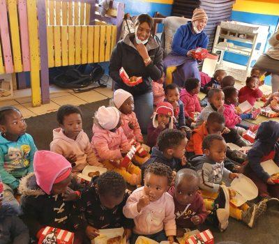 MANDELA DAY SUPPORT BENEFITS COMMUNITY ECD SCHOOL